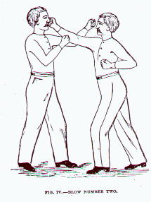 The beginnings of the modern right cross demonstrated in Edmund Price's The Science of Self Defense: A Treatise on Sparring and Wrestling, 1867